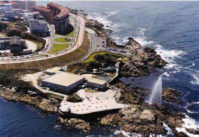 Aquarium Finisterrae or Fish House A Coruña