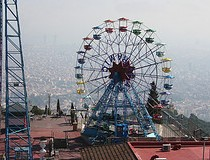 Barcelona Tibidabo Amusement Park