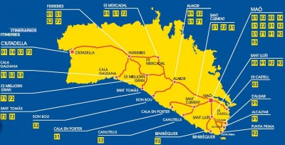 Bus Menorca