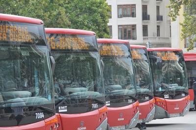 Valencia city buses
