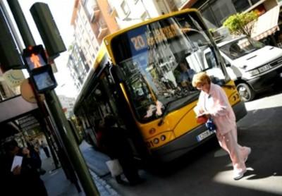 Bus de la ville de Jaén