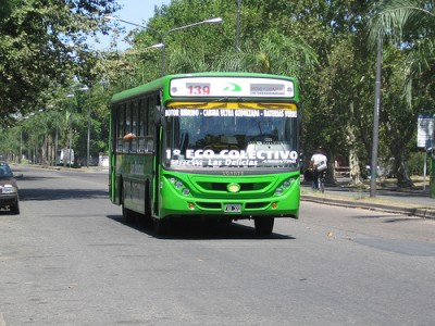 Ecological line bus - Rosario