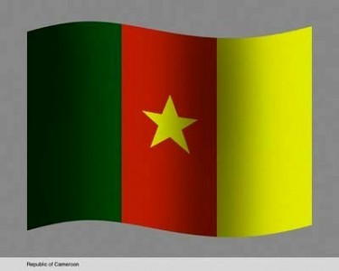 Cameroon Embassy flag of the Republic of Cameroon