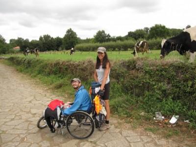 Camino de Santiago a challenge overcome by Paralympic José Vaquerizo