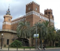 Castle of the Three Dragons in Barcelona