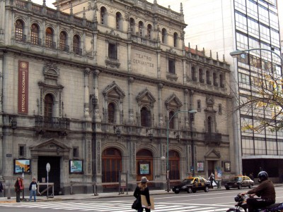 Cervantes National Theater Buenos Aires
