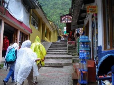 Rain in Cuzco