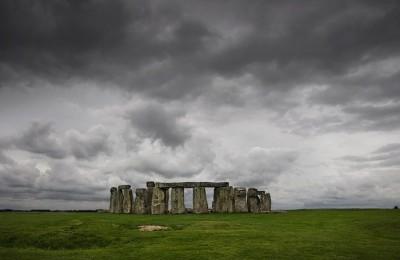 Sky in Stonehenge