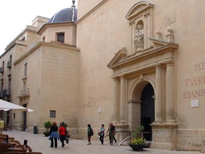 Co cathedral of San Nicolás Alicante
