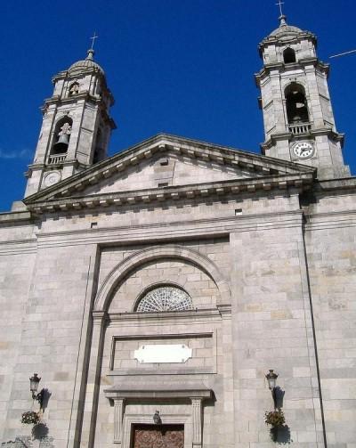 Co cathedral of Santa María de Vigo