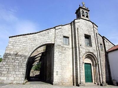 Collegiate Church Santa María de Sar Santiago de Compostela