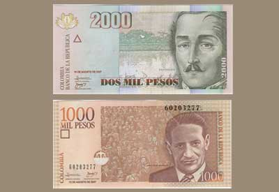 Currency Colombia