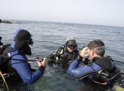 Dive in Almeria