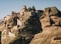 Greece The Monasteries of Meteora