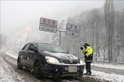 Road Control in Andorra