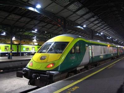 Train en Irlande