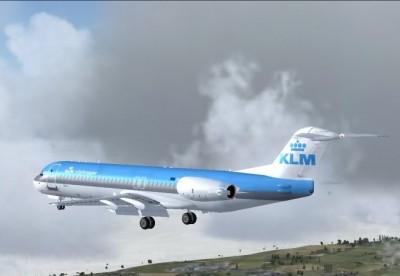 Plane to Malaga