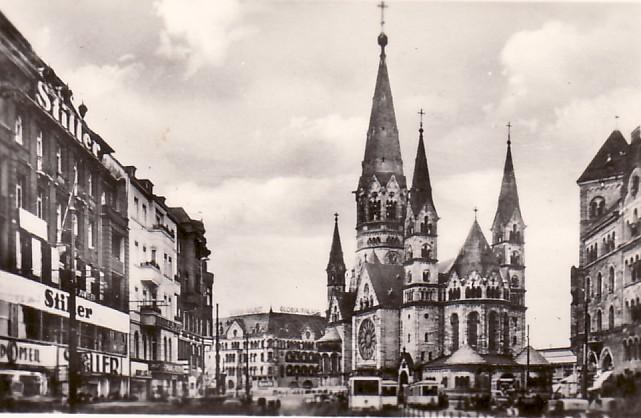 Kaiser Guillermo Church Berlin
