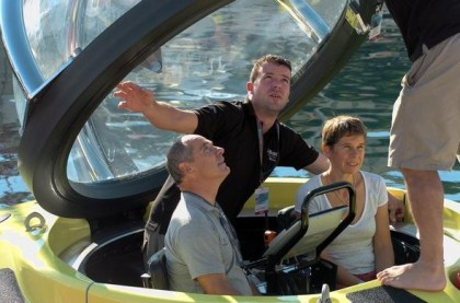 Luxury travel Experience in a private submarine