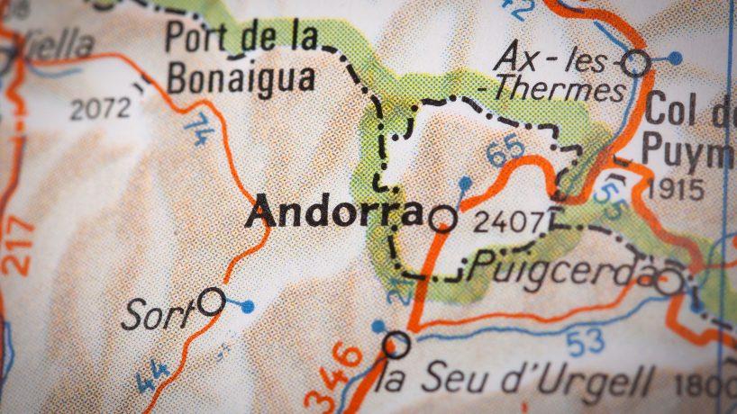 Maps Andorra