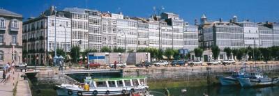 Marina dock A Coruna