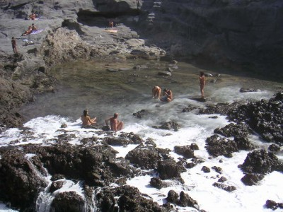 Nudist beaches of the Canary Islands