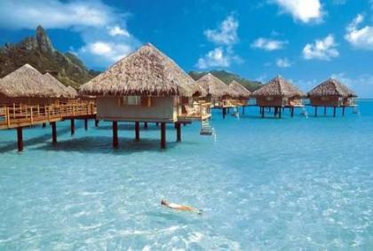 Paradise destinations for honeymooners