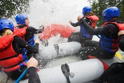 Rafting in Asturias