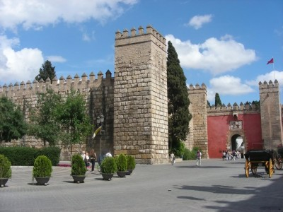 Lion Gate of the Alcazar