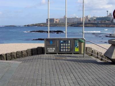Riazor Beach A Coruña