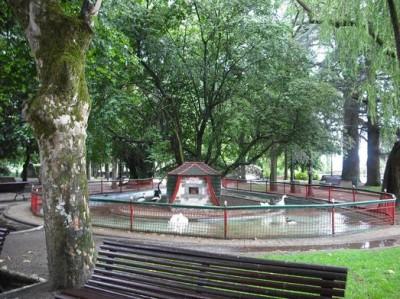Rosalia de Castro Park Lugo