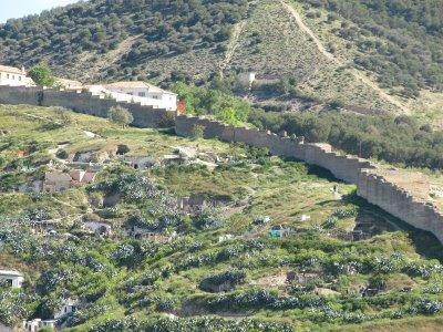 Sacromonte neighborhood Granada