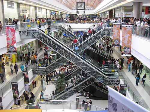 Shopping centers in Bogotá