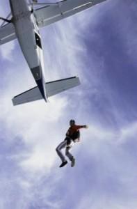 Parachutisme à Madrid