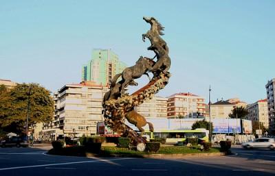 Spain Square Vigo