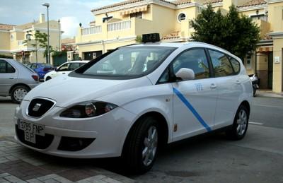 Malaga taxi