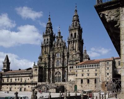 The Cathedral Santiago de Compostela