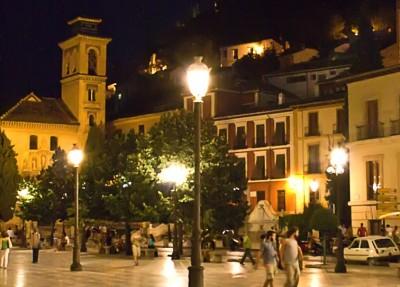 The New Square in Granada