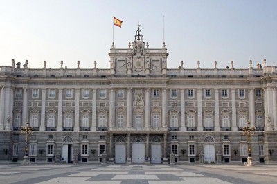 Main facade of the Royal Palace, Madrid