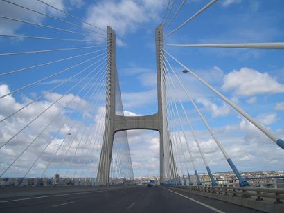 The Vasco de Gama bridge