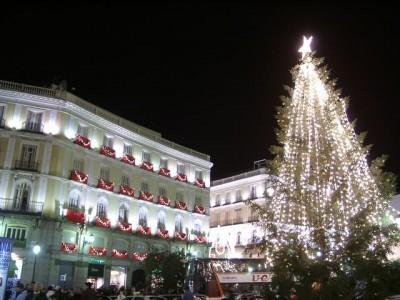 Christmas in Puerta del Sol