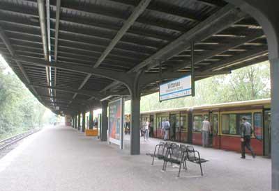 S-Bahn train station