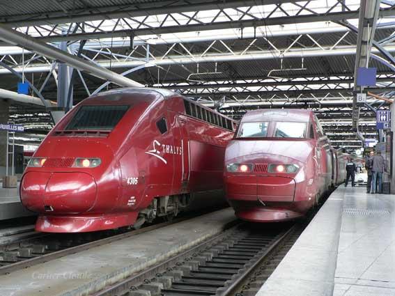 Train Brussels