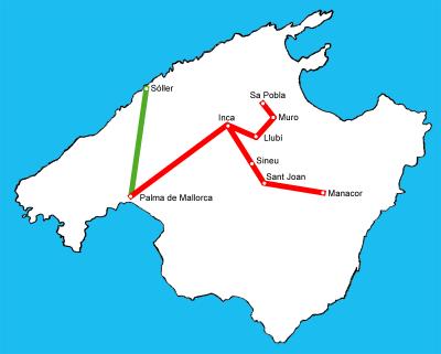 Train Mallorca