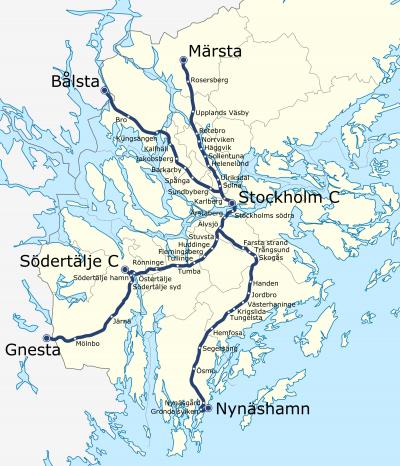 Stockholm trains