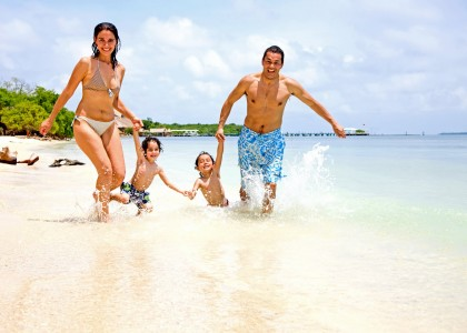 Travel with children to an all inclusive