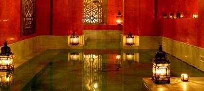 Turkish baths in Seville
