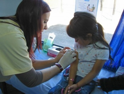 Vaccines to travel to South Africa