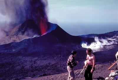 Volcano Teneguia La Palma