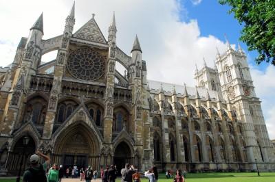 l'abbaye de Westminster